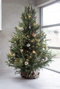 απλό χριστουγεννιάτικο δέντρο