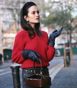 δερμάτινα γυναικεία γάντια