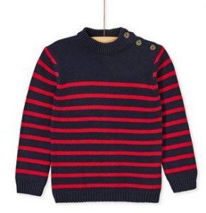κοκκινο μπλε πουλοβερ