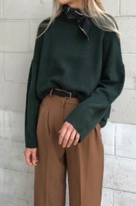 επίσημο ντύσιμο με πουλόβερ