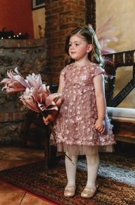 φορεμα ροζ mini raxevsky