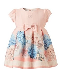 βρεφικο φορεμα ροζ
