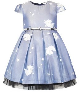 παιδικο γαλαζιο φορεμα