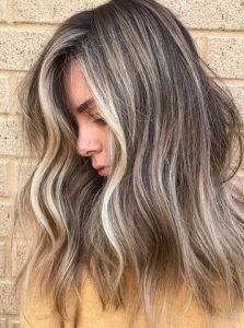γκρι σταχτι χρωμα μαλλιων