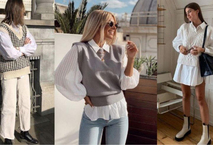 Πως να φορέσεις ένα πλεκτό γιλέκο με στυλ τον χειμώνα!