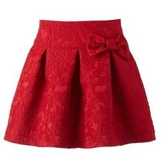 κοκκινη φουστα mini raxevsky