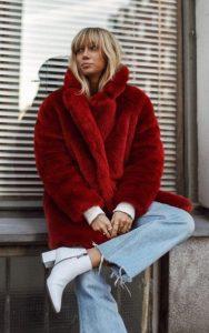 κόκκινη γούνα