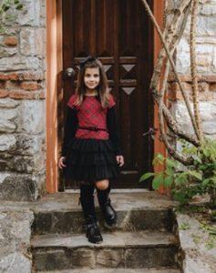 φορεμα μαυρο κοκκινο