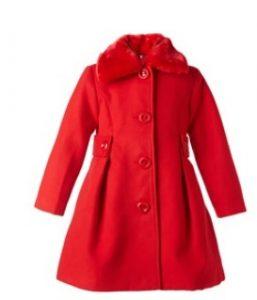 κοκκινο παλτο κοριτσι