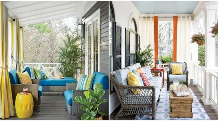 10 Ιδέες για να βάλεις κουρτίνες στο μπαλκόνι!