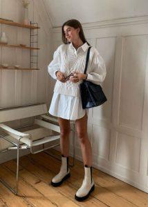 λευκό ντύσιμο