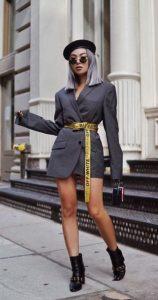 μοντέρνο ντύσιμο με σακάκι