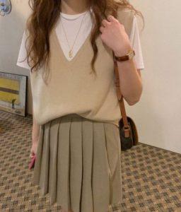 μπεζ outfit