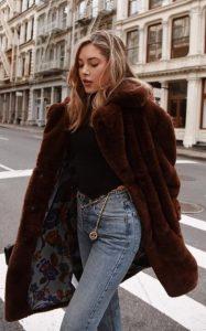 ντύσιμο με γούνα