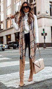 ντύσιμο με κασκόλ