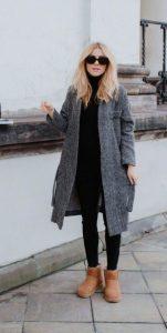 ντύσιμο με κολάν και μπότες