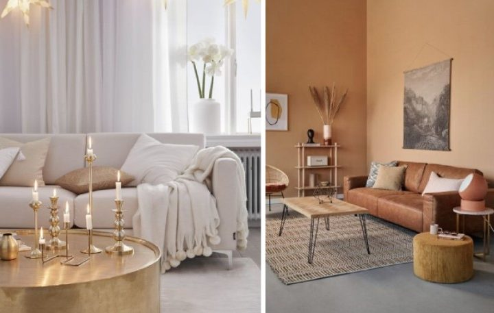 6 Όμορφοι χρωματικοί συνδυασμοί στο σαλόνι!