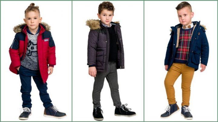 Όμορφα παιδικά ρούχα για αγόρια 3-14 ετών
