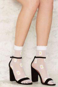 συνδυασμός κάλτσας πέδιλου