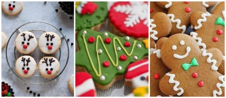 4 Τέλειοι τρόποι για διακόσμηση σε Χριστουγεννιάτικα μπισκότα!