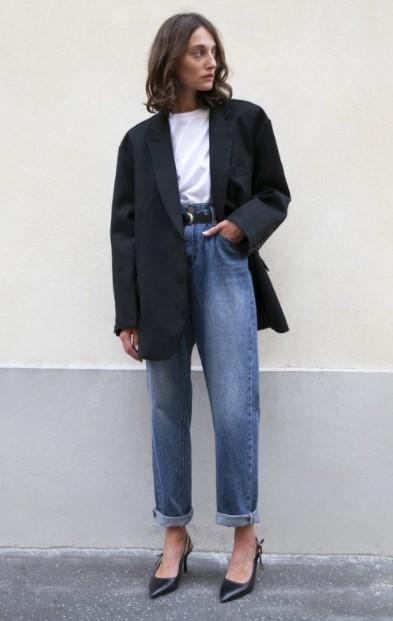 τζιν φαρδύ παντελόνι σακάκι στιλιστικά λάθη παχαίνουν