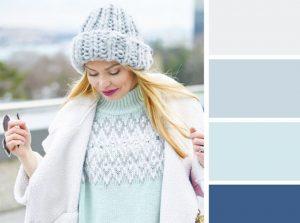 χρώματα λευκό μέντα συνδυασμός ρούχων