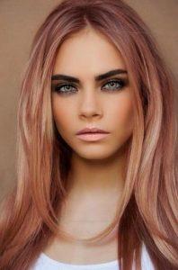 ξανθο ροζ μαλλια