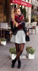 χειμερινό συνολάκι με φούστα