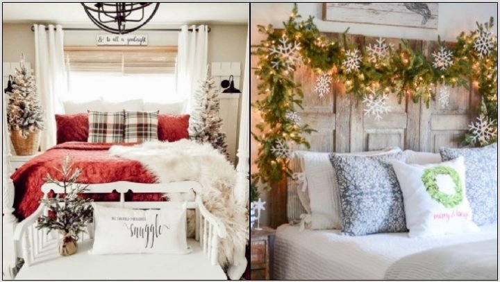 Κομψοί τρόποι να φέρεις τα Χριστούγεννα στην κρεβατοκάμαρα!