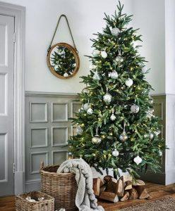 χριστουγεννιάτικο decor στο σπίτι