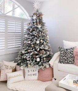 χριστουγεννιάτικο δέντρο στο σπίτι