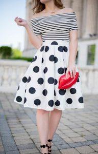 ασπρόμαυρα ρούχα