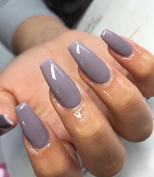 coffin νύχια lila