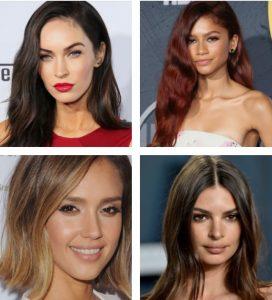 διάσημες με διάφορα χρώματα μαλλιών