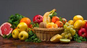 διατροφή με φούτα και λαχανικά