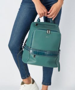 γαλάζια τσάντα πλάτης