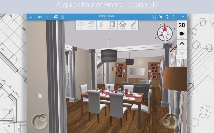 home design 3d εφαρμογη διακοσμησης