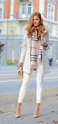 λευκό ντύσιμο χειμώνα