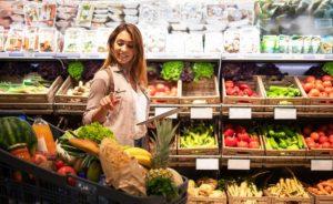 λίστα με ψώνια για σούπερμαρκετ
