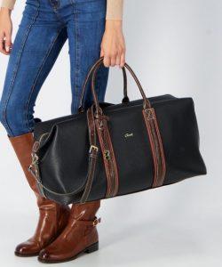 μαύρη τσάντα για ταξίδια