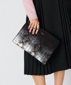 μαύρη τσάντα βραδινή