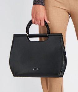 μοντέρνα γυναικεία τσάντα χειρός