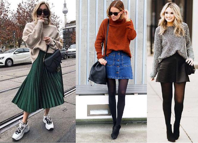 10 Πανέμορφα outfits με φούστα για τον χειμωνα!