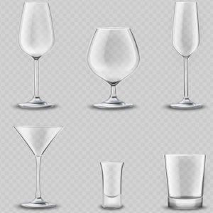 χοντρά και λεπτά ποτήρια