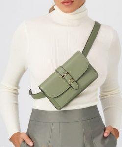πράσινη τσάντα μέσης