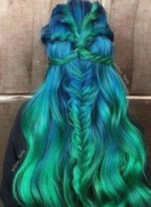 πρασινο με μπλε ομπρε