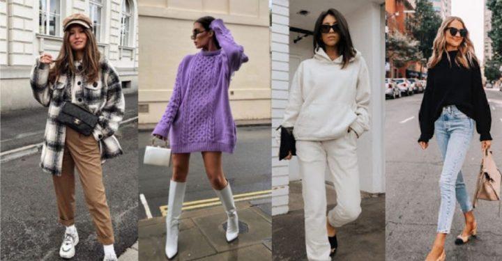Άνετα χειμωνιάτικα ρούχα που είναι στη μόδα το 2021!