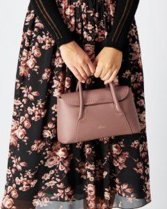ροζ γυναικεία τσάντα