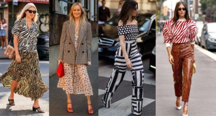 Πως να συνδυάσεις 2 μοτίβα στο ίδιο ντύσιμο!