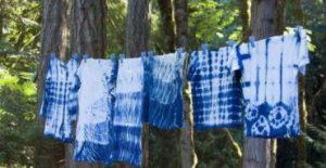 απλωμα ρουχων tie dye